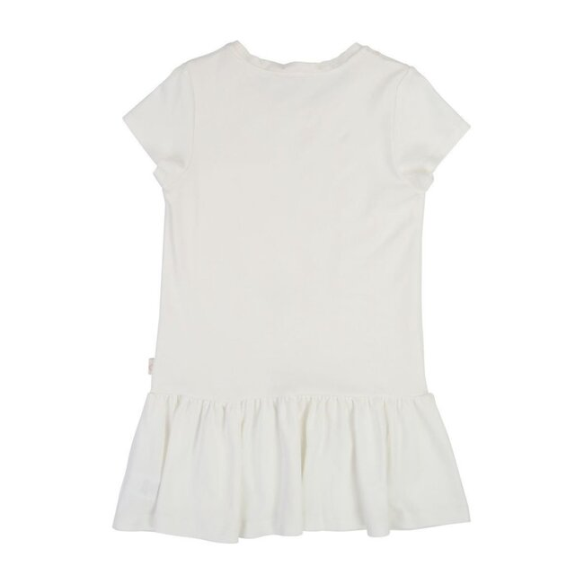 Embroidered Horse Print Dress, Ivory