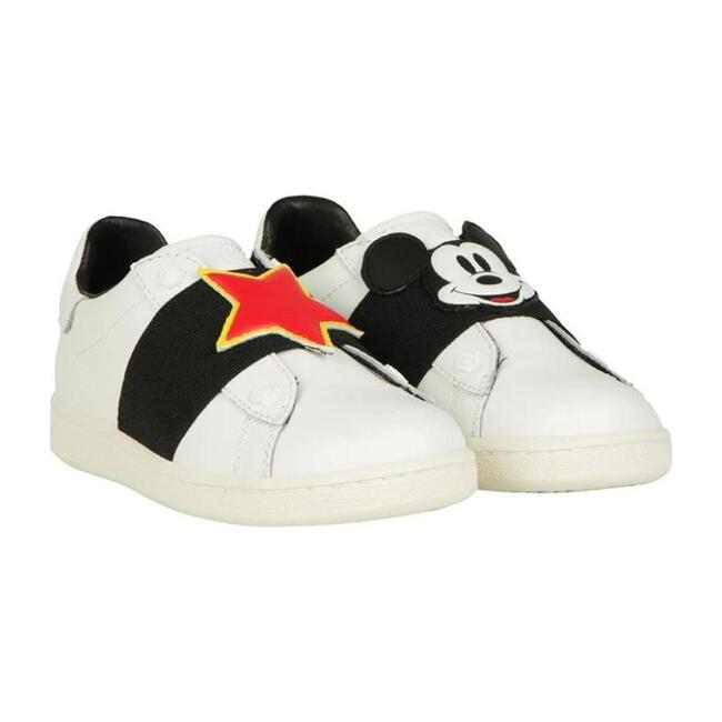 Braker Patch Sneakers, White