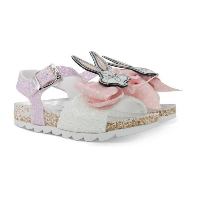 Bow Bugs Bunny Sandals, Pink
