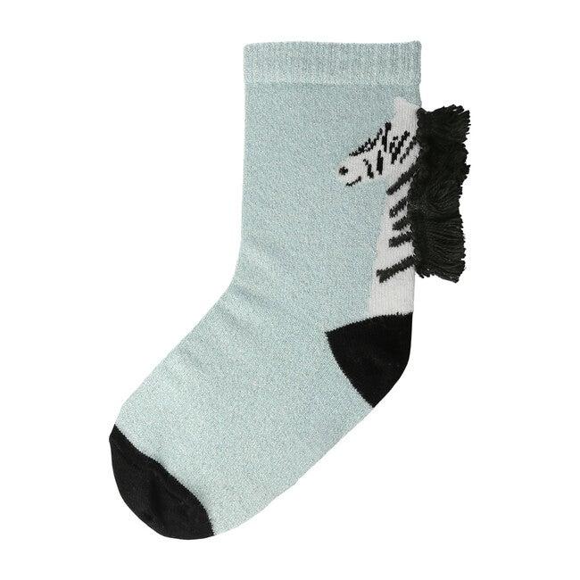 Zebra Sparkle Socks