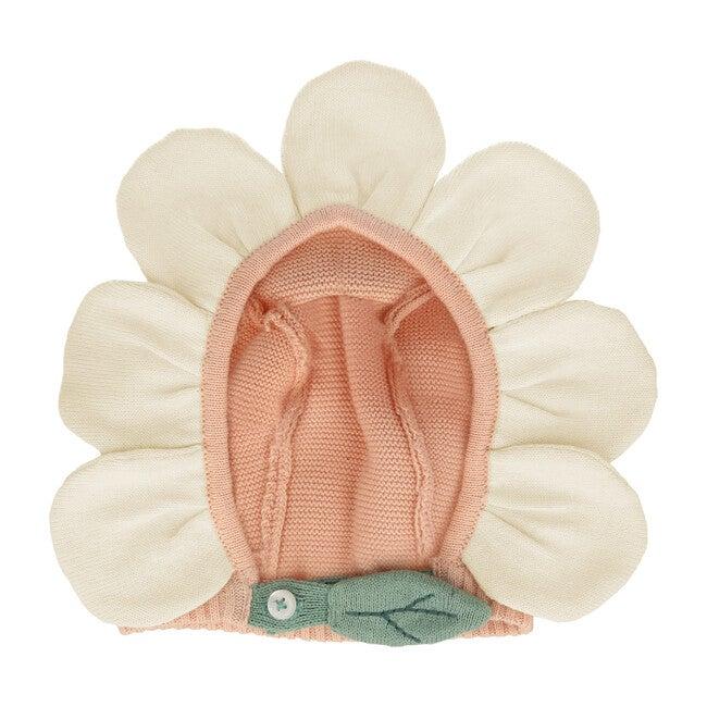 Peach Daisy Baby Bonnet