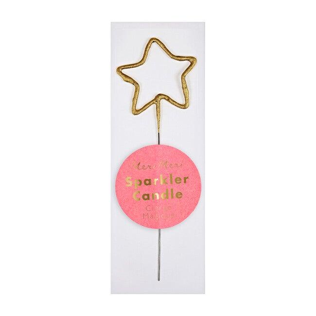 Sparkler Gold Mini Candle, Star