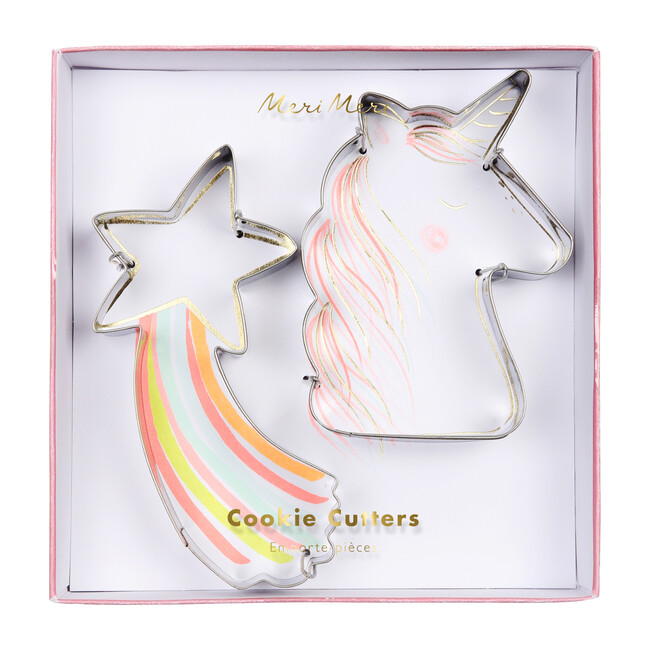 Unicorn & Star Cookie Cutters - Party Accessories - 1