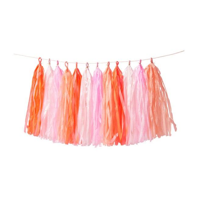 Pink Tassel Garland - Decorations - 1
