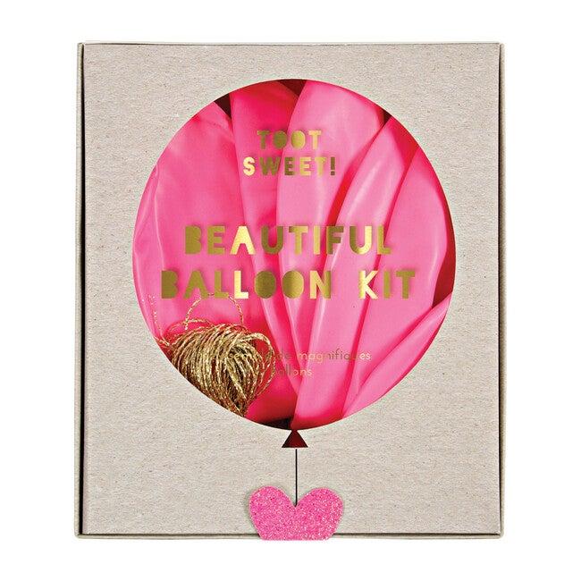 Pink Beautiful Balloon Kit