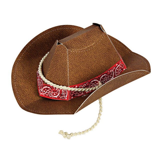 Howdy Cowboy Party Hat - 8 box