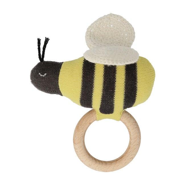 Bumblebee Baby Rattle