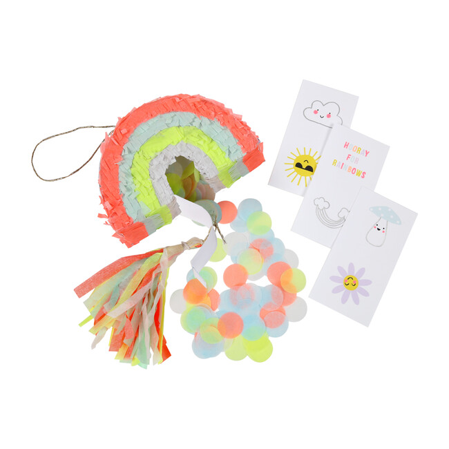 Rainbow Party Favor Pinatas