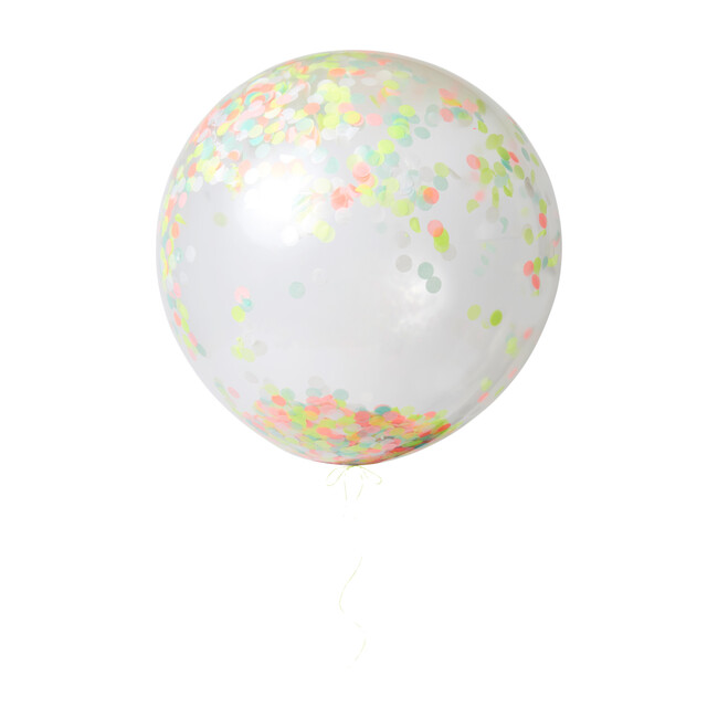 Neon Giant Confetti Balloon Kit