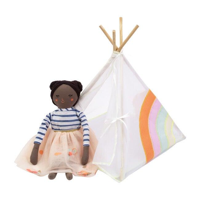 Rainbow Tipi Dolly Accessory