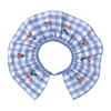 Gingham Ruffle Collar