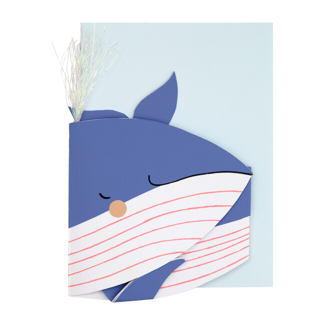 Whale Stand-Up Card