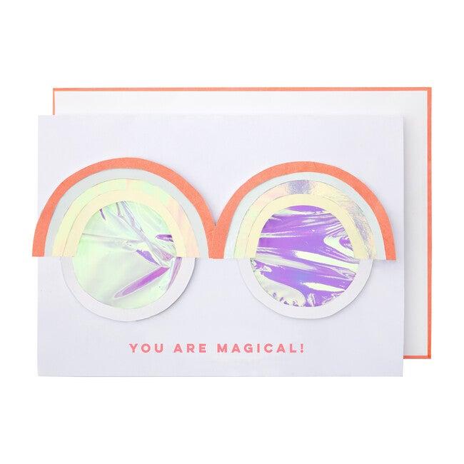 Rainbow Glasses Card