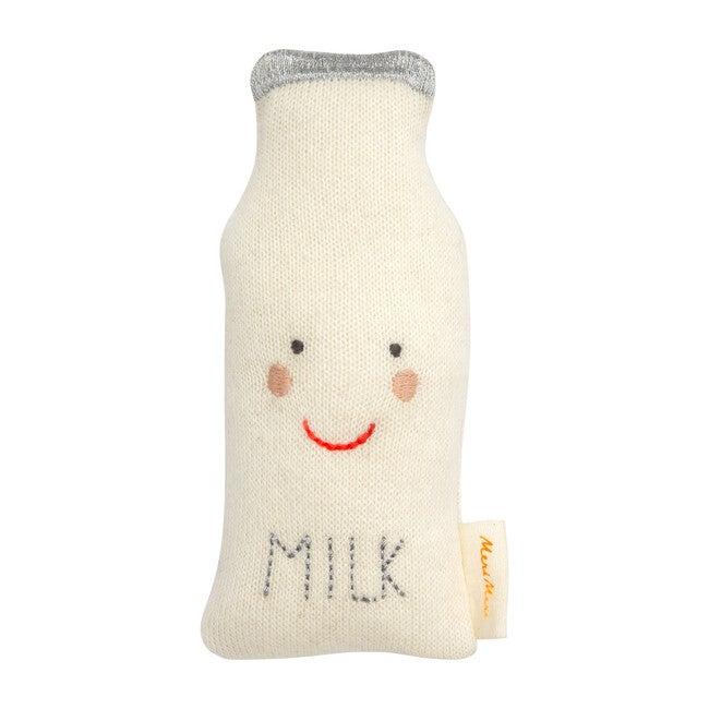 Milk Bottle Baby Rattle