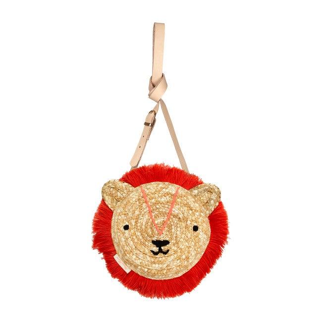 Woven Lion Bag