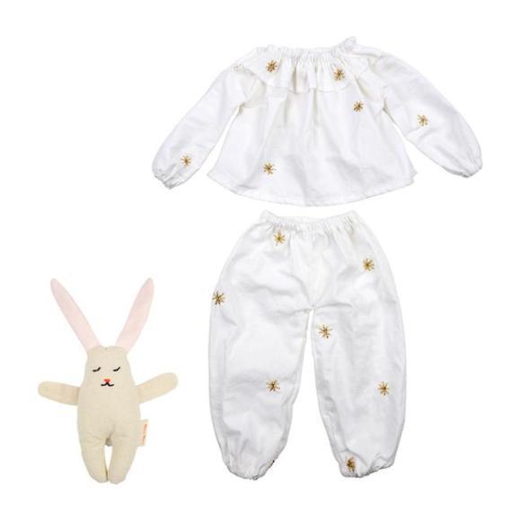 Pajamas & Bunny Dolly Dress-Up Kit