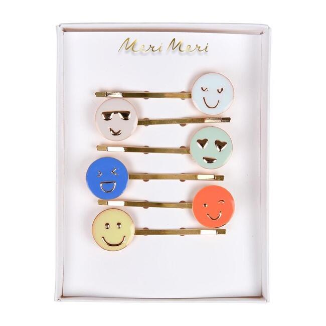 Emoji Enamel Hairclips