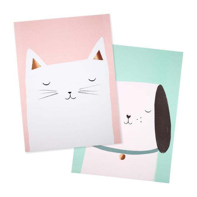 Cat & Dog Prints