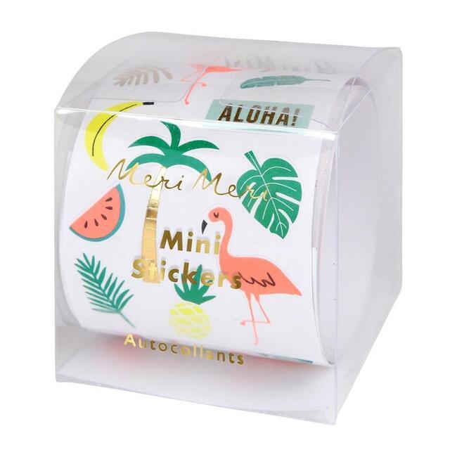 Mini Tropical Sticker Roll