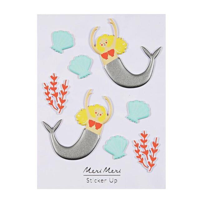Mermaid Puffy Stickers