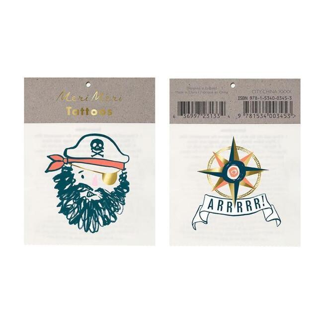 Bearded Pirate Tattoos