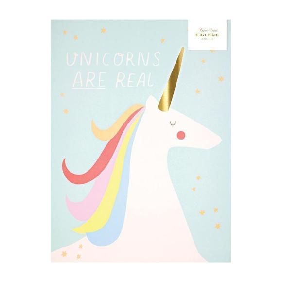 Rainbows & Unicorns Art Prints