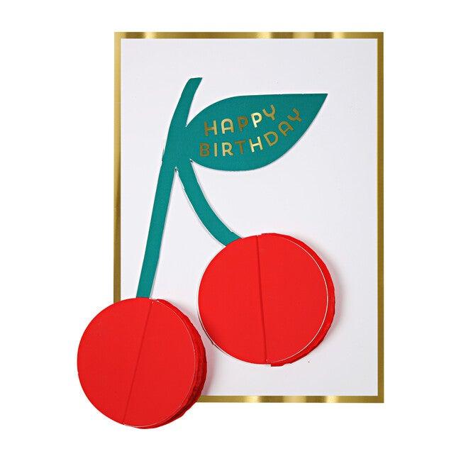 Cherries Honeycomb Card