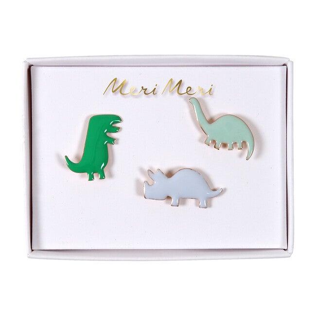 Dino Enamel Pins