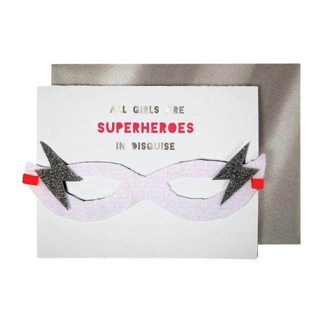 Girl Superhero Card