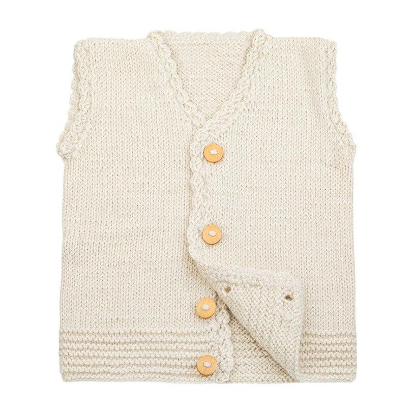 Vest, Cream