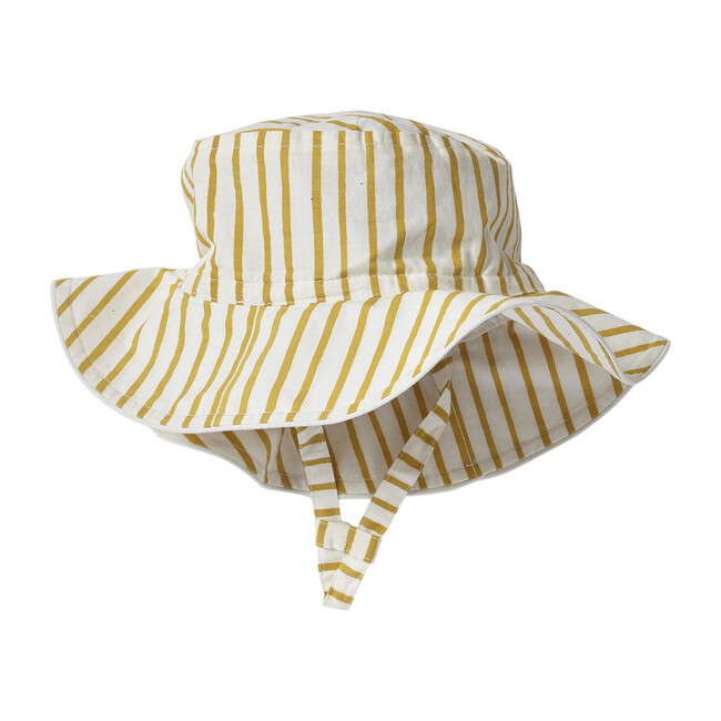 Stripes Away Bucket Hat, Marigold