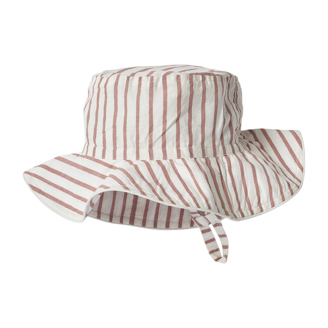 Stripes Away Bucket Hat, Pink