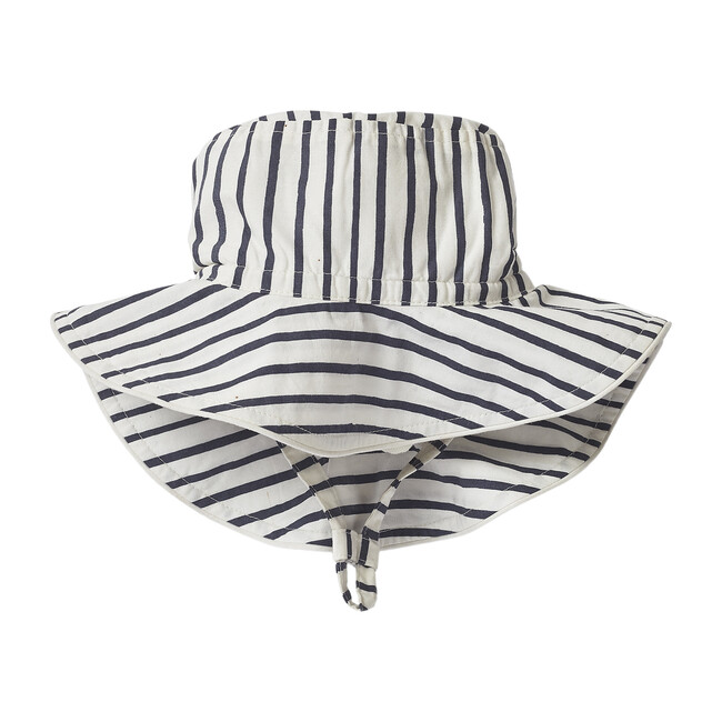 Stripes Away Bucket Hat, Ink