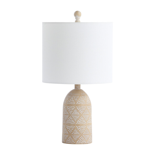 Nava Table Lamp, Brown