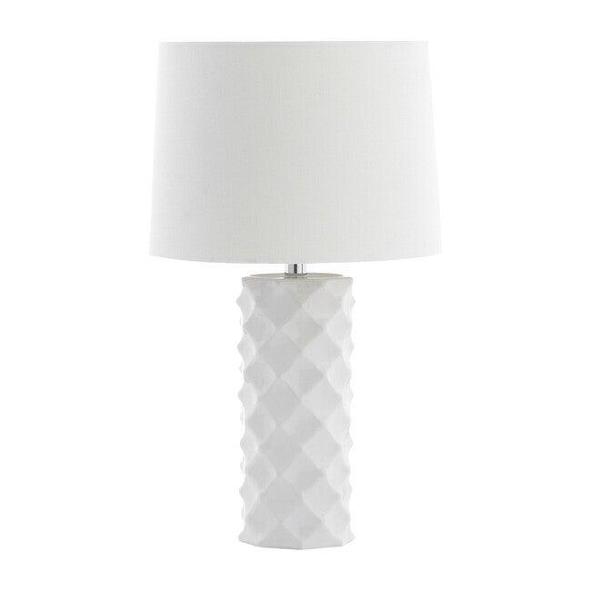 Belford Table Lamp, White