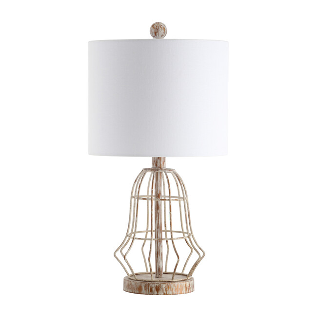 Canes Table Lamp, Gold