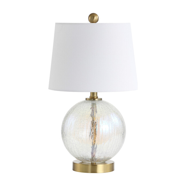 Riglan Table Lamp, Clear