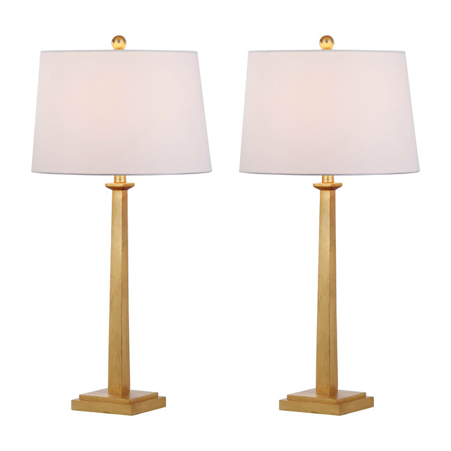 Set of 2 Andino Table Lamps, Brass