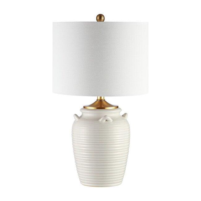 Lener Table Lamp, Ivory - Lighting - 0