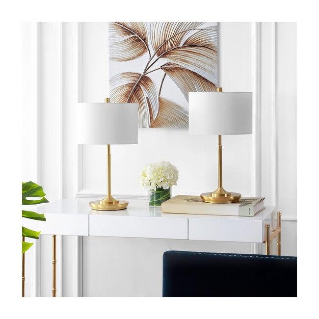 Set of 2 Taren Table Lamps, Gold