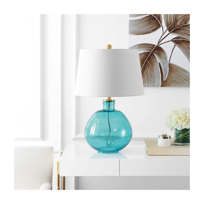 Rasby Table Lamp, Blue
