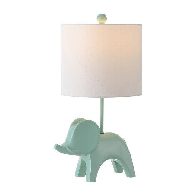 Ellie Elephant Lamp, Aqua