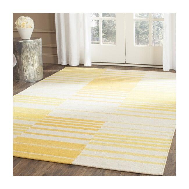 Kilim Lily Rug, Yellow