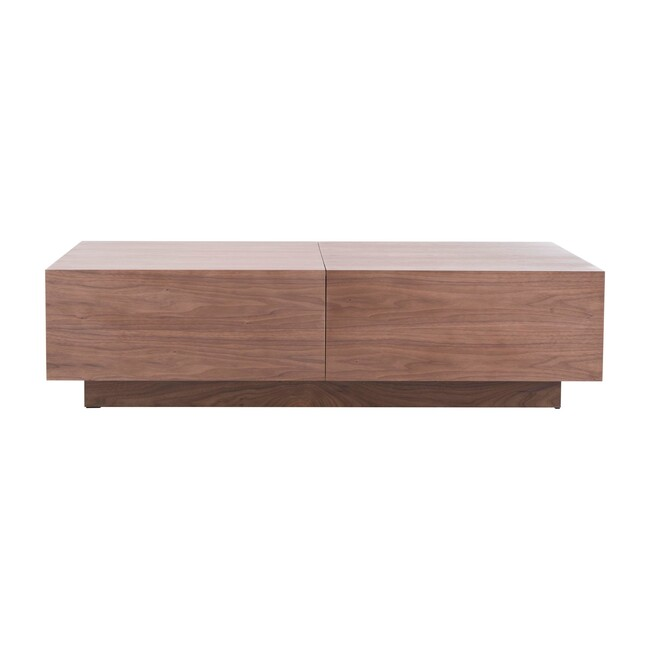 Rascal Wood Coffee Table, Walnut