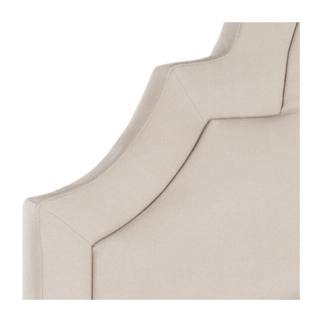 Kerstin Arched Headboard, Taupe