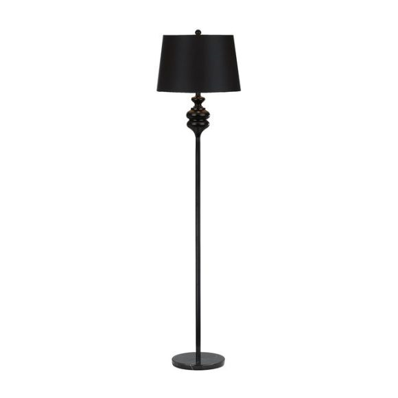 Torc Floor Lamp, Black