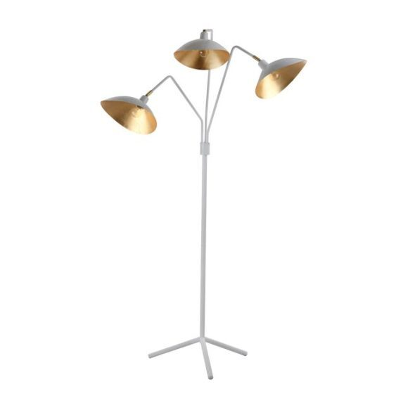 Iris Floor Lamp, White