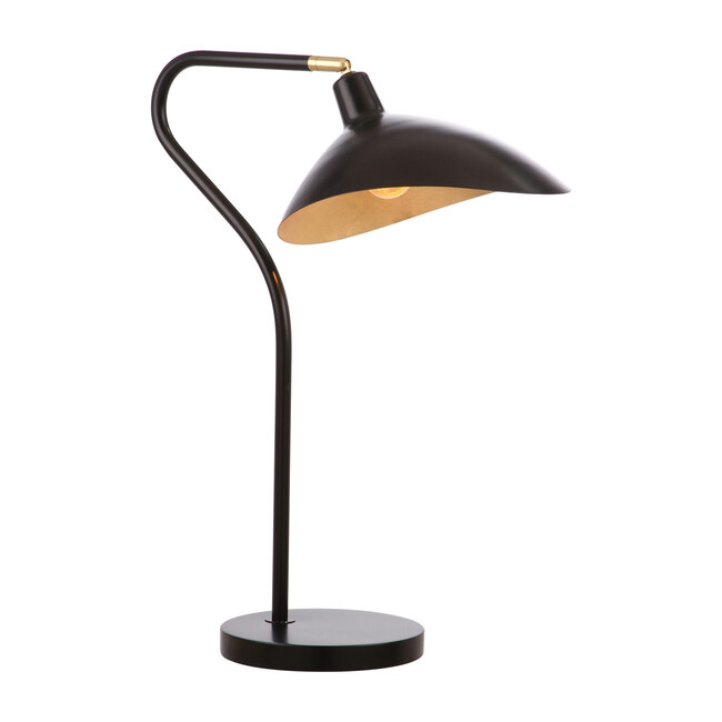 Giselle Adjustable Table Lamp, Black