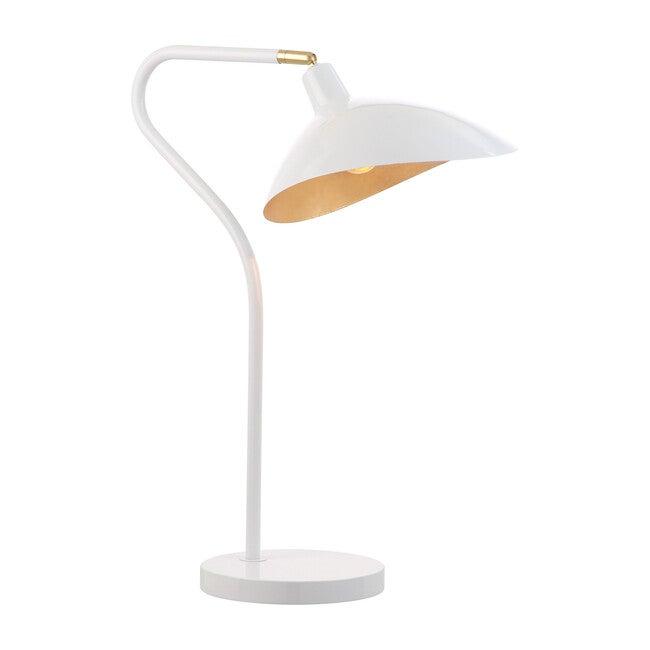 Giselle Adjustable Table Lamp, White