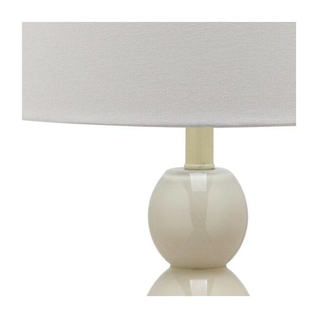 Set of 2 Jayne Three-Sphere Glass Lamps, Grey